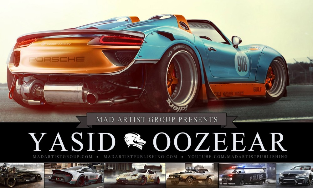 Yasid Oozeeart Portfolio Demo Reel (HD) Concept Artist,Auto Designer, Industrial Designer