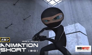 BOBO | The virtual ninja game begins - Cute 3D Animation by VFS