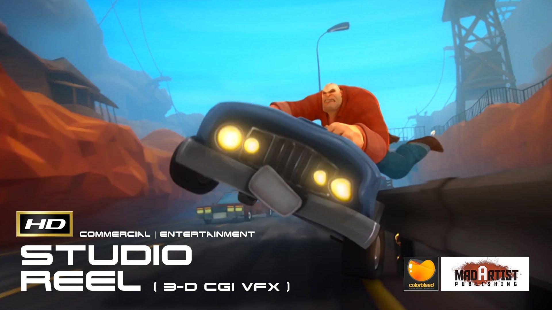 COLORBLEED 2015 Animation Studio SHOWREEL (HD) 3D CGI