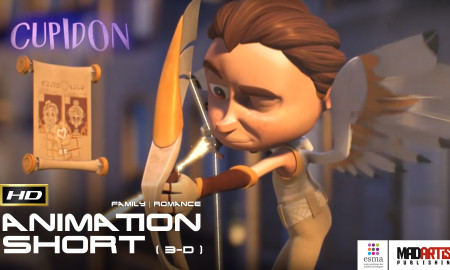 CUPIDON (HD) Proof Love is Blind. Super Cute 3D CGI Animation Short film by ESMA