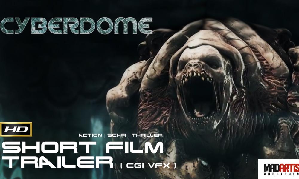 CYBERDOME (HD) CGI Live Action Thriller Trailer. Short Sci-Fi Film by Al Hallak