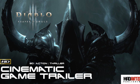 "DIABLO 3 ""Reaper of Souls"" (HD) CGI 3D Cinematic Game Trailer. Animation by Blizzard & Square Enix"
