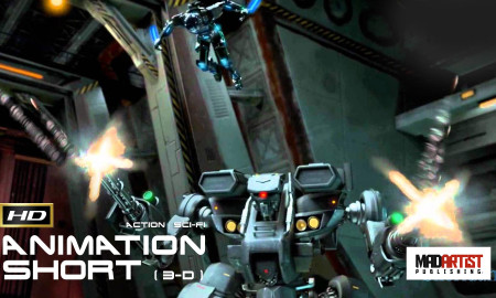 GHOST | MechWarrior and Future Soldiers battling in space - 3D CGI Animation by Sheridan
