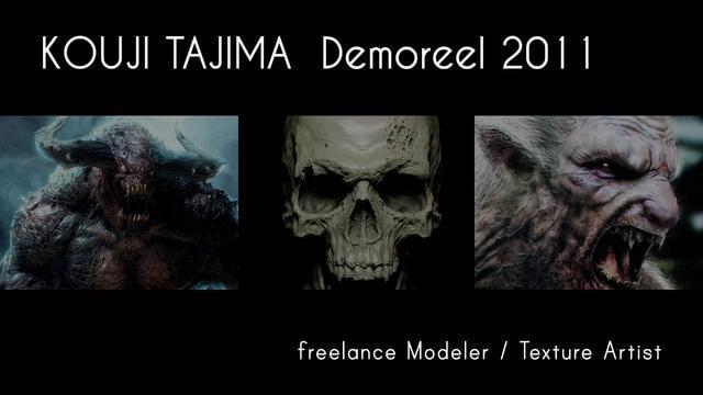 Kouji Tajima 2010 Showreel | Concept Artist & 3D Modeler