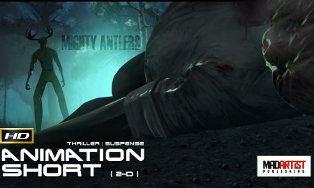 Mighty Antlers | Horrifying car accident leads to imagined horror – Film by The Animation Workshop