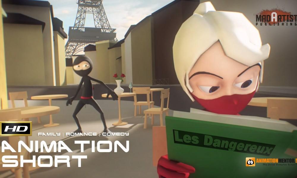 A NINJA LOVE STORY (HD) True LOVE is only a kick away. 3d CGI Animated Short by Daniel Klug & Animation Mentor