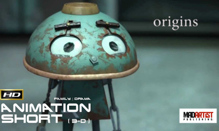 ORIGINS | See what happens when a Robot meets Nature - Animation by Ringling