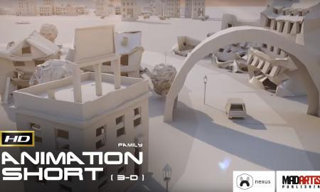 PAPER CITY (HD) Beauitful 3d CGI VFX Animation Commercial Advertisement by Maciek Janicki & Nexus
