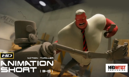 Pluton Robotics | Baseball players and Robots just don't mix – Animation by Digital Rebel Production