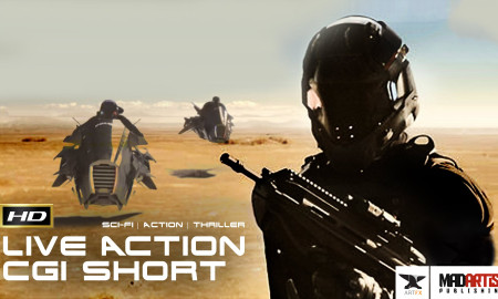 RUNAWAY (HD) SCI-FI CGI VFX Live Action Short Film. MAD MAX vs. Star Wars themed film. By ArtFx