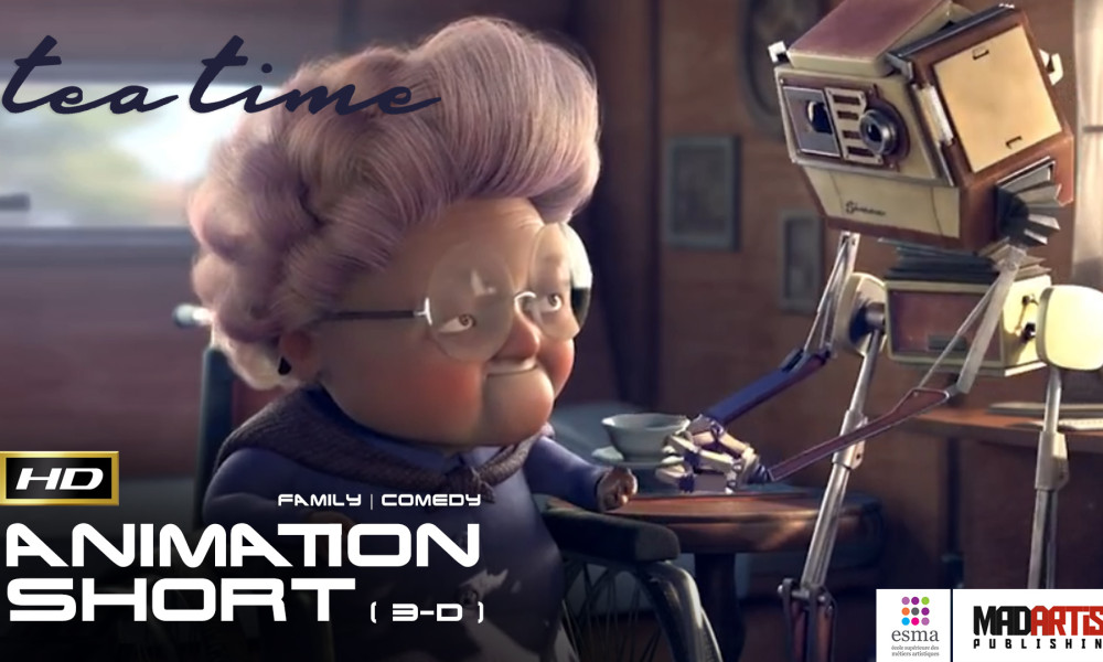 TEA TIME (HD) Lovely & Cute CGI 3D Animated Short Film about Grannies Little Helper. By ESMA