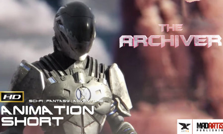 THE ARCHIVER (HD) **Multi Award Winning** 3D CGI Animated HALO Space Adventure. Sci-Fi film by ArtFX