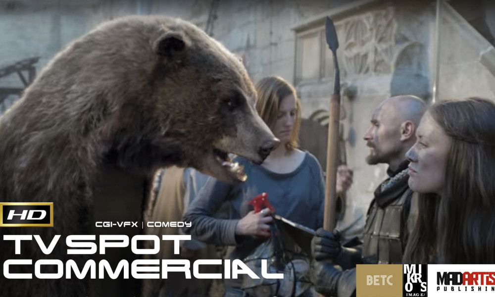 THE BEAR - CANAL+ (HD) ** Multi Award Winning ** Funny CGI VFX Commercial by BETC Paris & Mikros Image