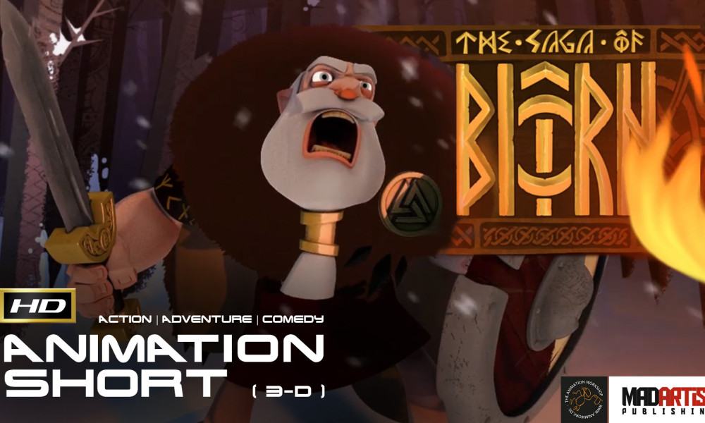 THE SAGA OF BIORN (HD) Hilarious CGI 3D Animated Film by The Animation Workshop