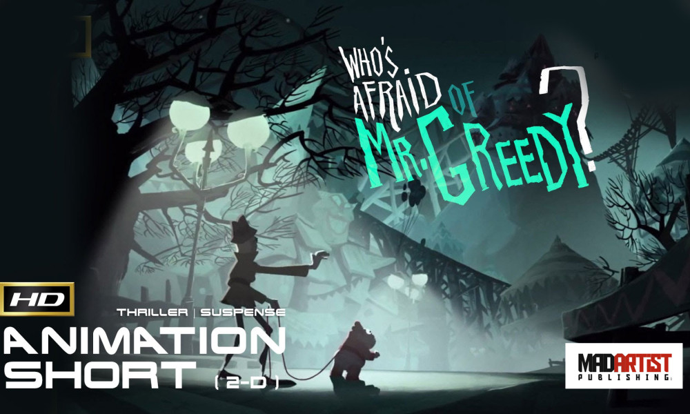 Whos Afraid of MrGreedy? | What would you do if your identity is stolen? - Thrilling 2D Animation by GOBELINS
