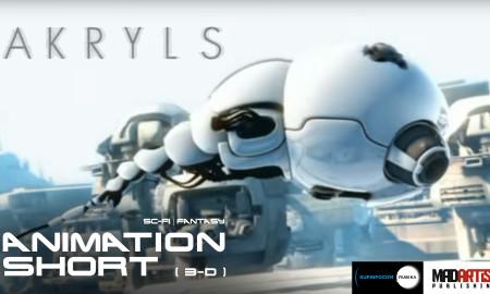 AKRYLS ** Microscopic Coaster ride ** CGI VFX 3D Animated Short Film by Supinfocom