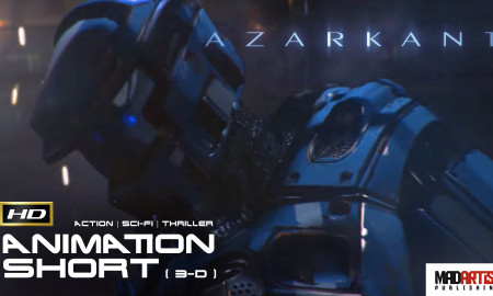 AZARKANT (HD) Superbly Suspenseful CGI VFX Sci-Fi Animated Film. Animation By Andrey Klimov