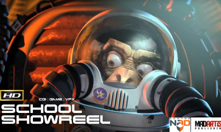 CENTRE NAD 2011 School SHOWREEL (HD) Compilation student reel from the Montreal Animation School