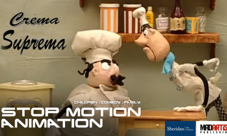CREMA SUPREMA | 2 Chefs in a kitchen too many - Stop Motion Animation Short Film by Sheridan