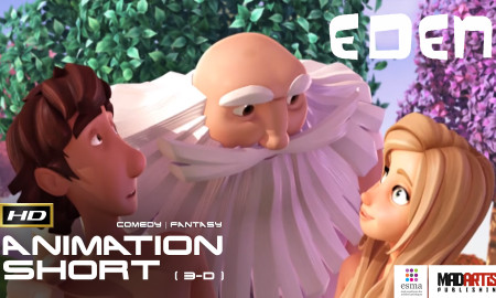 EDEN (HD) Real story of Adam and Eve - CGI 3D Animated Short Film by ESMA