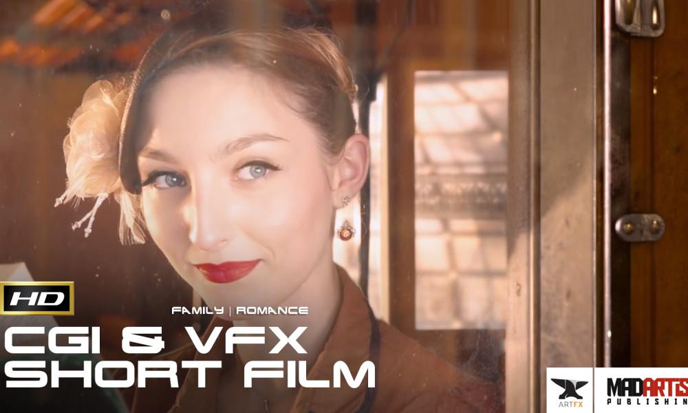ENTRE LES LIGNES (HD) Cute CGI VFX Love Story on a Steampunk Train - Film By ArtFx
