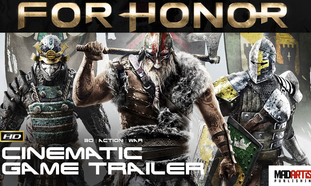 FOR HONOR (HD) Bloody CGI 3D Cinematic Game Trailer. Animation by UBISOFT