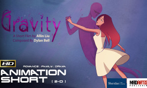 GRAVITY (HD) Beautiful Animated Story of Struggle With Irresistible Attraction. Film by Ailin Liu