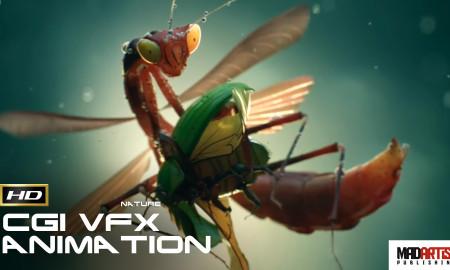 INSECTS (HD) Enjoy this fantastic CGI VFX Animation Short By Ramtin Ahmadi