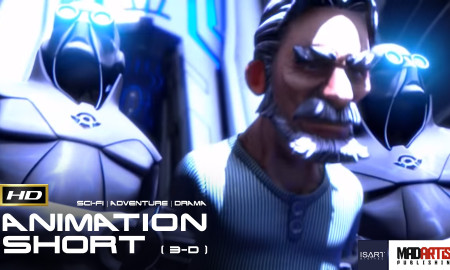 L'HERBORISTE / HERBALIST (HD) SCI-FI Thriller - CGI 3D Animation Short Film by ISART Digital