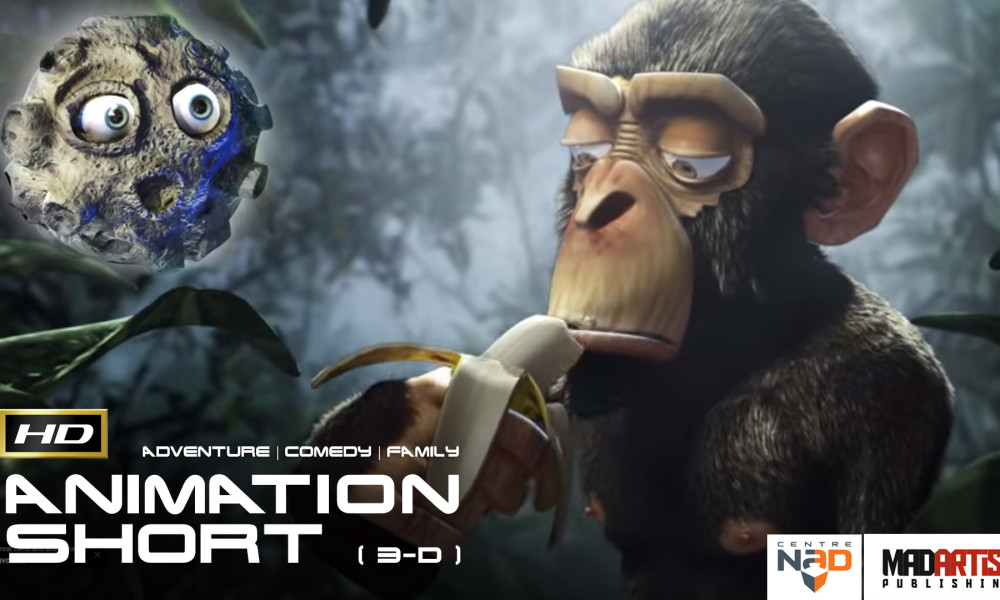MONKEY MOON (HD) Funny CGI 3D Animated Short Film with an Unexpected Ending. By CentreNAD