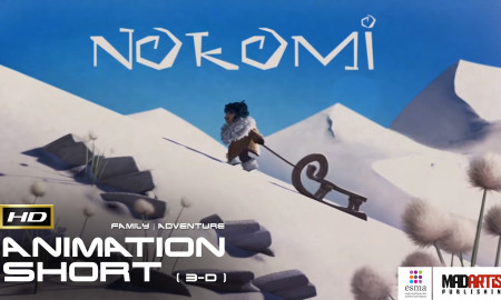 NOKOMI (HD) Enjoy this 3D CGI Animation Short Film - A Monster Adventure with a Message? by ESMA