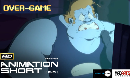 OVER-GAME (HD) Gamer gets his braincells fried. Short Animated film by Julien Becquer & Supinfocom