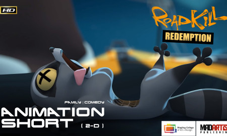 ROADKILL REDEMPTION (HD) Dark & Cute ** Award Winning ** CGI 3D Animated Short Film by Ringling