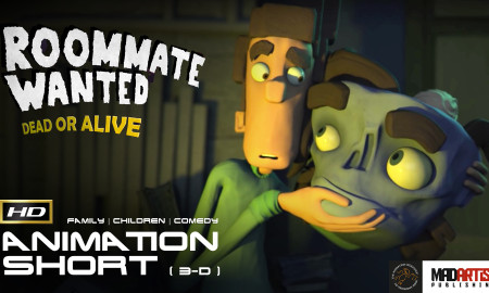 ROOMATE WANTED: Dead or Alive (HD) Hilarious 3d CGI Animation Short By The Animation Workshop