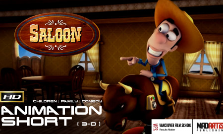 SALOON (HD) Funny 3D CGI Animation Film on how to Impress a Cowgirl. Short by Thiago Martins & VFS