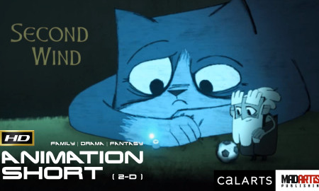 Second Wind (HD) Cute Story With a Great Message. 2D Animation Short Film By Ian Worrel / CalArts