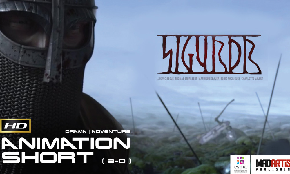 SIGURDR (HD) ** Brilliant ** Viking Tale - CGI 3D Animated Short FIlm by ESMA