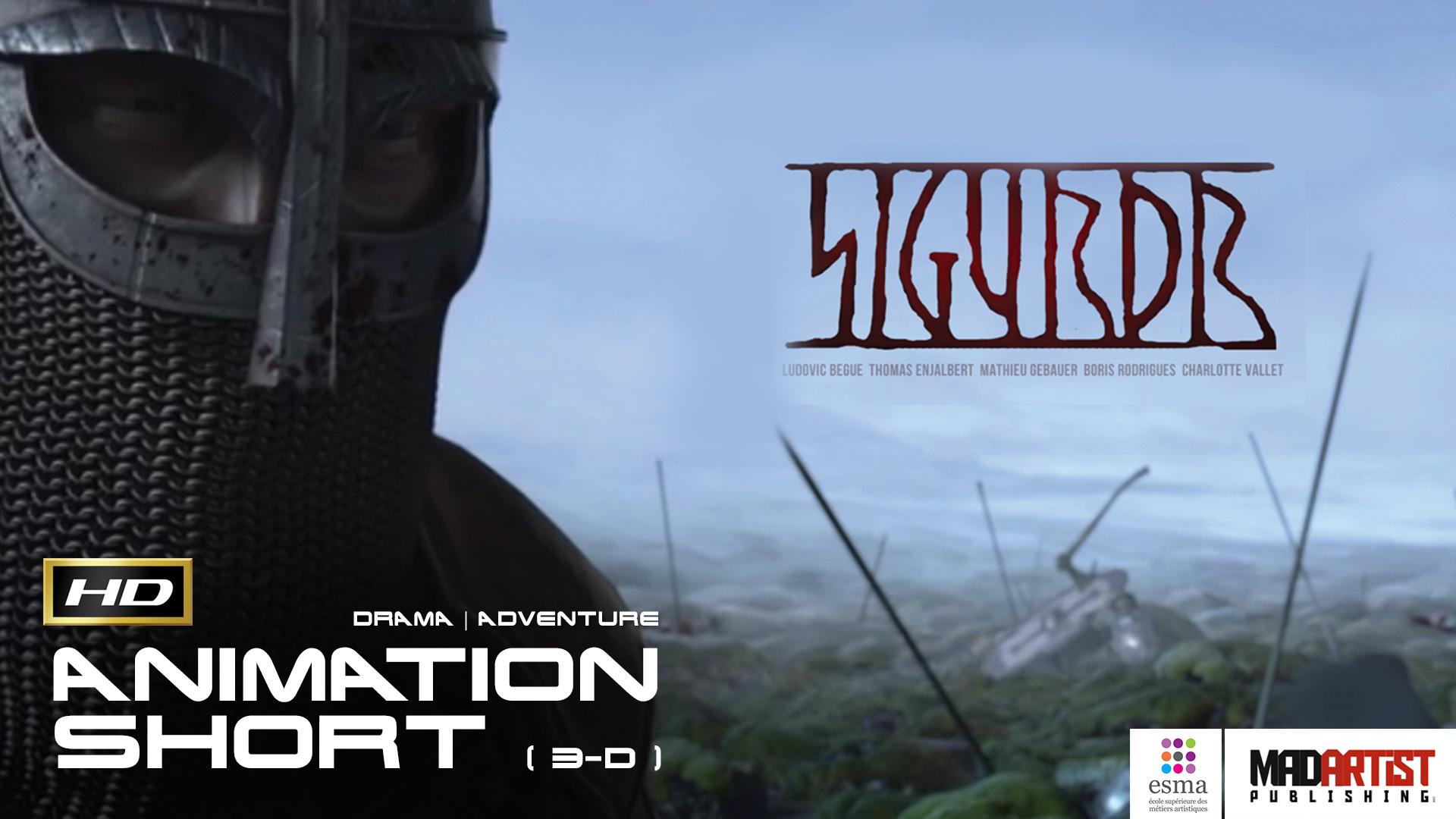 SIGURDR HD Brilliant Viking Tale CGI 3D Animated