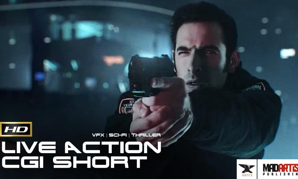 THOUSANDTH STREET (HD) CG VFX Live Action Sci-Fi Crime Thriller. Short Film by ArtFX