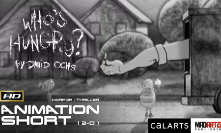 WHO'S HUNGRY? Children Eaten Alive - 2D Animated Short Child Horror Film. By David Ochs / Calarts