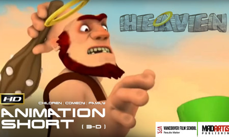 Will you go to HEAVEN? FUNNY CGI 3D Animation Short Film by Camilo Guaman & Vancouver Film School