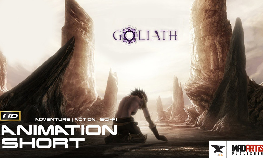 GOLIATH (HD) CGI 3D Fantasy Action Film about a heroine that saves her world. By ArtFX