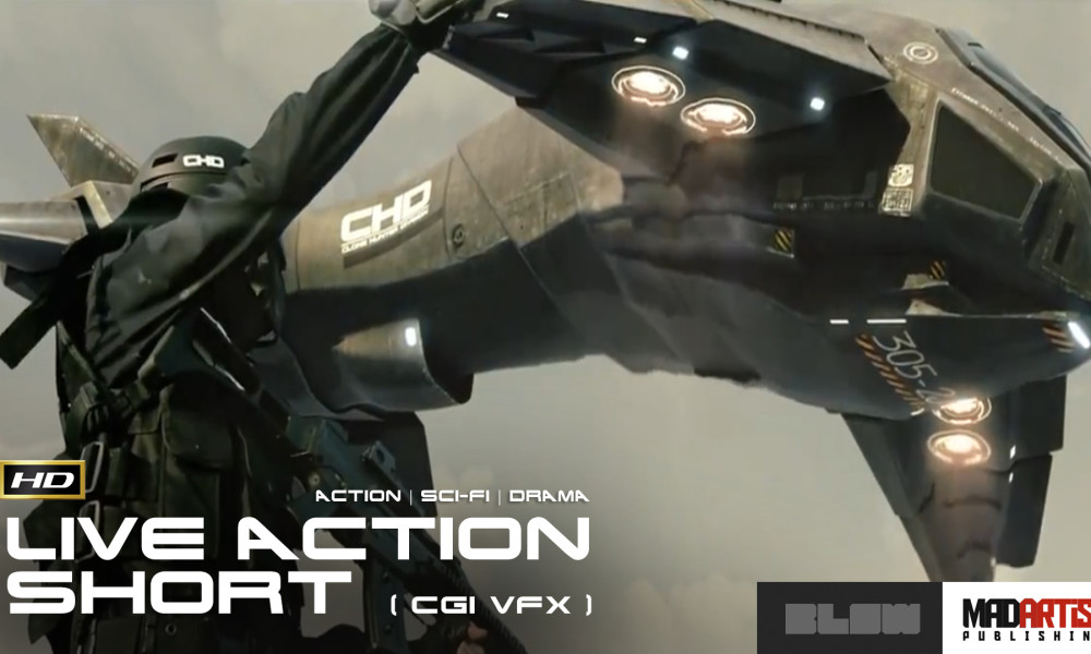 PROJECT SHELL (HD) Action Scifi CGI Live Action Short Film by Blow Studio