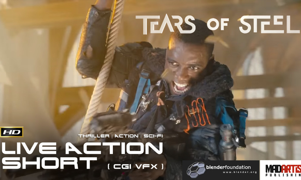 TEARS OF STEEL (HD) CGI VFX Live Action SCIFI Film. By Blender Foundation